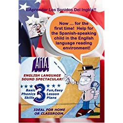 Aha! English Language Sound Spectacular - Bilingual Education Program