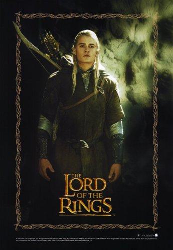 Il Signore degli Anelli-1: the Fellowship of the Ring Poster film 17 G, In 11 x 28 cm x 44 cm, legno Elijah Ian McKellen Tyler-Liv Viggo Mortensen Cate Blanchett Sean Astin [Importato da Regno Unito]