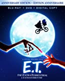 E.T.: The Extra-Terrestrial / E.T. lextraterrestre (Bilingual) (30th Anniversary Edition) [Blu-ray + DVD + Digital Copy] (Version française)