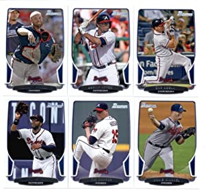 2013 Bowman Baseball Cards Atlanta Braves Team Set In Collector