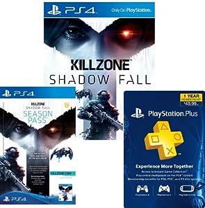 Killzone Shadow Fall Digital Bundle: Game + Season Pass + 1-Year PS Plus - PS4 [Digital Code]