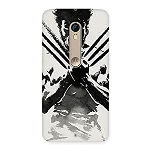 Voila Ready for Wolf Back Case Cover for Motorola Moto X Style