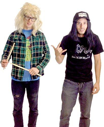 Wayne's World Garth and Wayne Halloween costumes