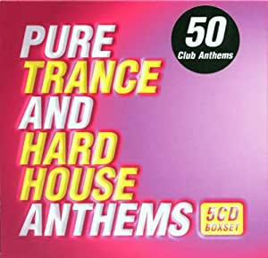 Various artists pure trance and hard house anthems for 90s house anthems