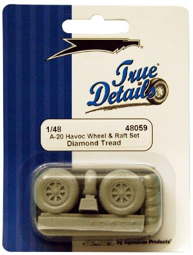 True Details A-20/P-70 Havoc Wheels