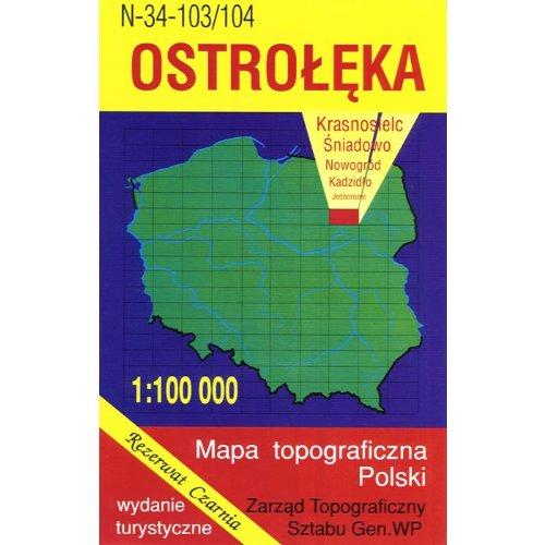 Ostroleka Region Map