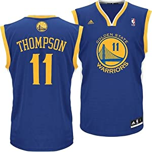 Golden State Warriors Adidas NBA Klay Thompson #11 Replica Jersey XL by adidas