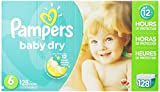 Pampers Baby Dry Size 6 Economy Pack Plus, 128 Count
