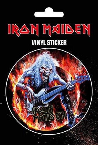Iron Maiden Fear Live Flames Adesivo standard
