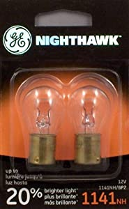 GE 1141NH/BP2 Nighthawk Automotive Replacement Bulbs, Pack of 2