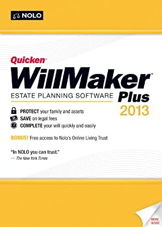 Quicken WillMaker Plus 2013