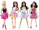 Barbie Fashionistas Doll (4-Pack)