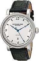 Stuhrling Original Symphony Analog Silver Dial Men's Watch - 719.01