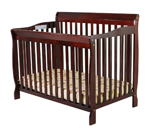 Learn More About Dream On Me Ashton 4 in 1 Convertible Crib, Cherry