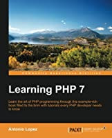 Learning PHP 7 Front Cover