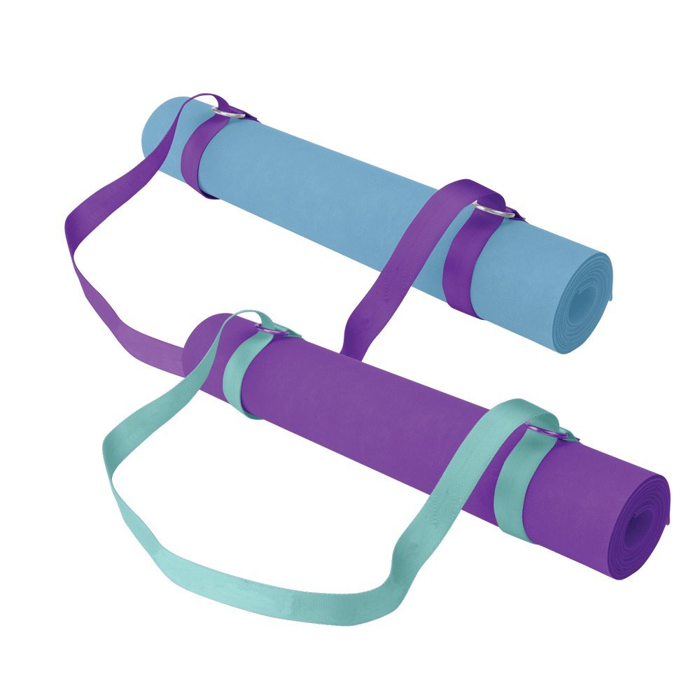 Gaiam Easy Cinch Yoga Mat Sling (Sold Individually with Assorted Colors)