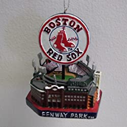 Boston Red Sox Fenway Park Christmas Ornament