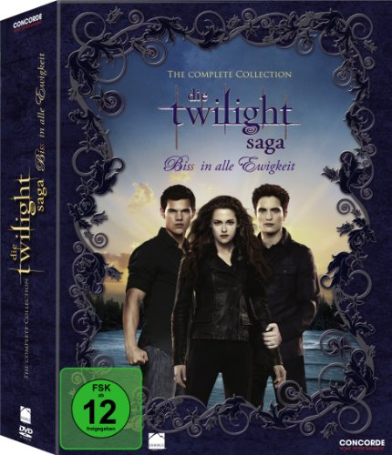 Twilight-Saga Complete Collection (Digipack) [11 DVDs]