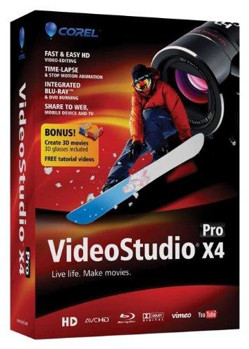 VideoStudio Pro X4 Mini-Box (bilingual software)