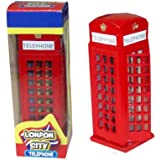 Diecast Metal Red London Telephone Box 8.5cm Souvenir