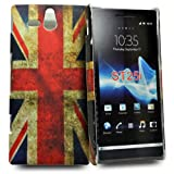 Accessory Master Silicon Gel Case for Sony Xperia U ST25i Vintage Union Jack