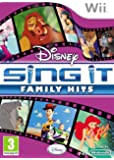 Disney Sing It : Family Hits (Wii)