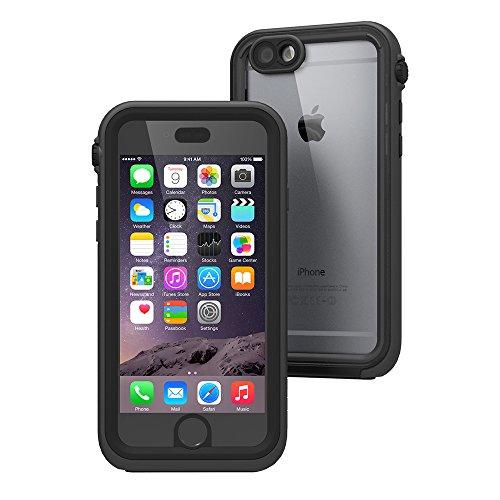 日本正規代理店品 catalyst 5m完全防水・防塵・耐衝撃ケース for iPhone6 ブラック CT-WPIP144-BK