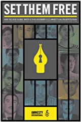 Set Them Free: Amnesty International Global Write-a-thon Poster