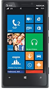 Nokia Lumia 920 4G Windows Phone, Black (AT&T)