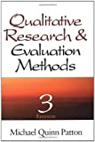 img - for Qualitative Research & Evaluation Methods book / textbook / text book