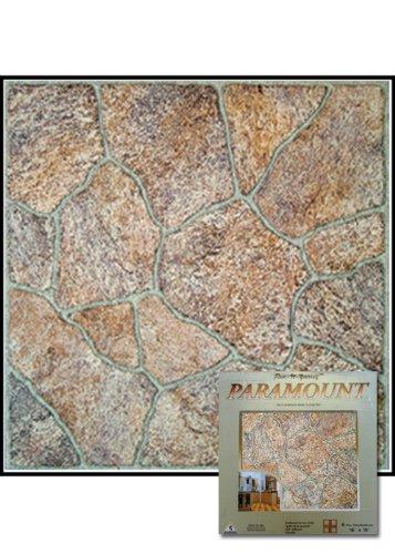 Paramount Self-Adhesive Vinyl Floor Tile 16-015G Home Dynamix Flooring - 1 Box Covers 8 Sq. Ft.
