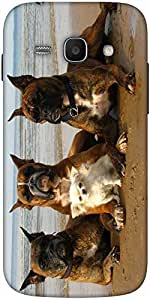 Snoogg Dog'S Make Friends Solid Snap On - Back Cover All Around Protection Fo...