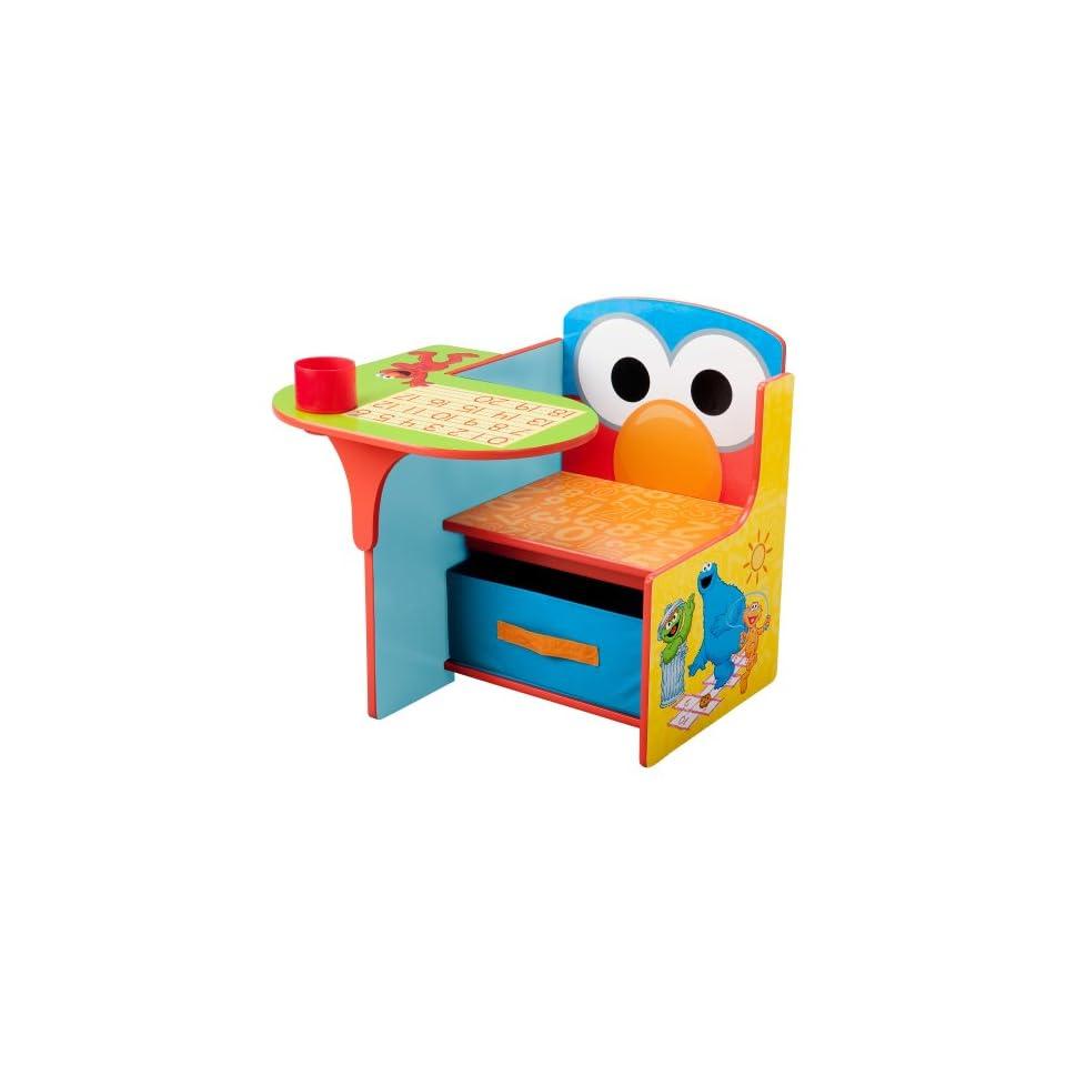 Sesame Street Chair Desk Toys & Games