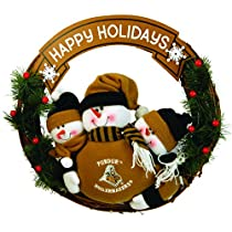 Purdue Boilermakers Wreath 3 Snowmen 20