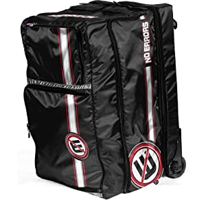 No Errors Blue Umpires Bag (Black) by No Errors