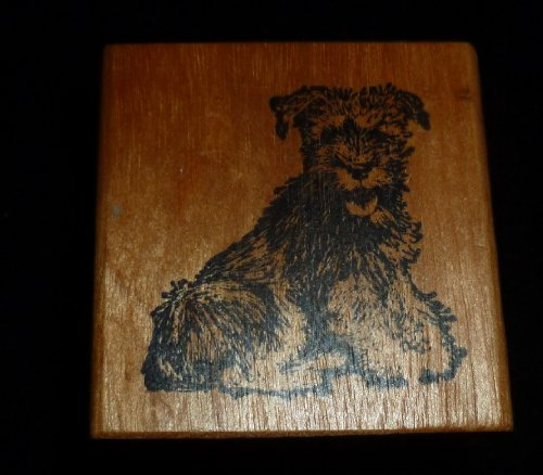 Puppy Dog Rubber Stamp - 1