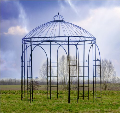 pavillons aus metall ein blickfang in jedem garten. Black Bedroom Furniture Sets. Home Design Ideas