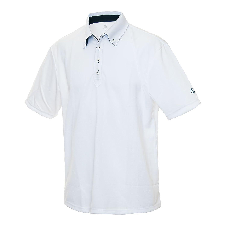 70c5253cb533ff Championスポーツウェア☆半袖機能ポロシャツ メンズ ホワイト CT1