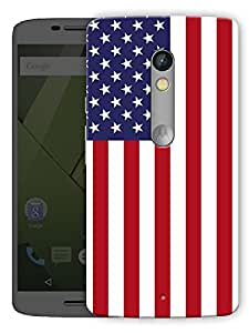 "Usa Love Printed Designer Mobile Back Cover For ""Motorola Moto X Play"" By Humor Gang (3D, Matte Finish, Premium Quality, Protective Snap On Slim Hard Phone Case, Multi Color)"