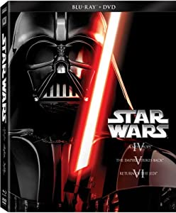 Star Wars Trilogy Episodes IV-VI (Blu-ray + DVD) from 20th Century Fox Home Entertainment