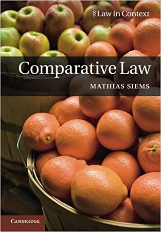 Comparative Law (Law in Context)