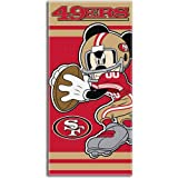 NFL San Francisco 49ers Mickey Mouse Beach Towel