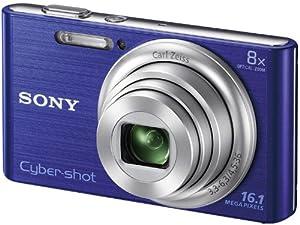 Sony Cyber-shot DSC-W730 [ Factory Refurbished] 16.1MP Digital Camera 8x Optical Zoom HD 720p Video Movies Panorama SteadyShot (Blue)