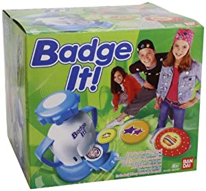 Bandai 8010 - Badge it! Buttonmaker, sortiert, Farbe nicht frei wählbar