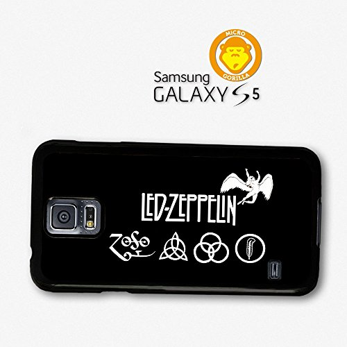 Led Zeppelin Zoso Logo Black And White Case For Samsung Galaxy S5 A6346