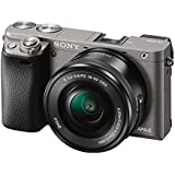 Sony Alpha ILCE-6000L 24.3MP Digital SLR Camera (Grey) With 16-50mm Lens