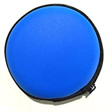 buy Pu Case Pocket Size Holder Case For Plantronics Backbeat Go , Marque 2 M165 , Marque M155 , M55 M50 M28 M25 M24 M20 (Blue)