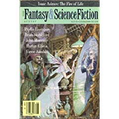 The Magazine of Fantasy and Science Fiction, August 1988 (Volume 75, No. 2) by Brian Stableford, Phyllis Eisenstein, John Morressey and Vance Aandahl