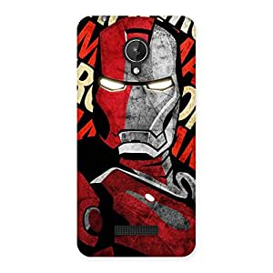 Stylish Introduction Man Back Case Cover for Micromax Canvas Spark Q380