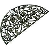 Cast iron doormat - antique finish